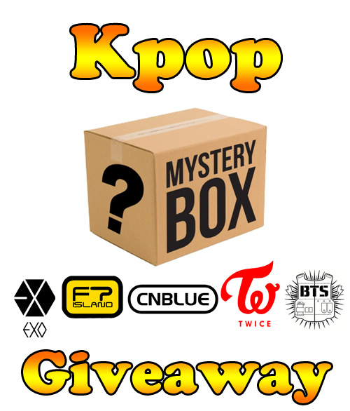 Organization Mystery Giveaway: Mystery Kpop Box Giveaway